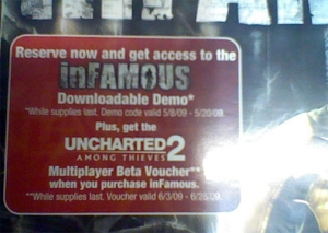 Infamous Preorder Box