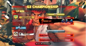 Street Fighter IV Championship Mode