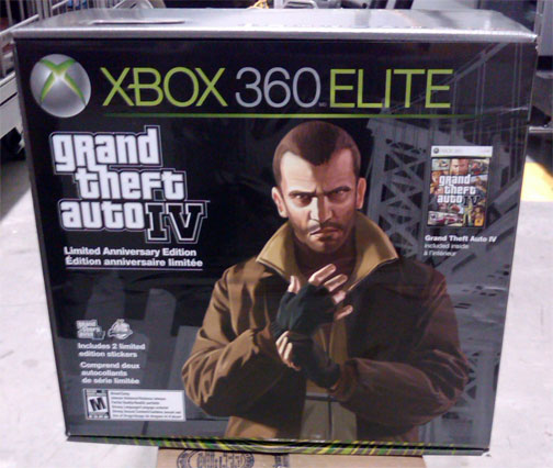 xbox 360 elite. GTA IV Xbox 360 Elite Bundle