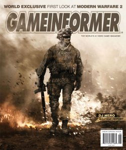 Game Informer Call of Duty Modern Warfare 2