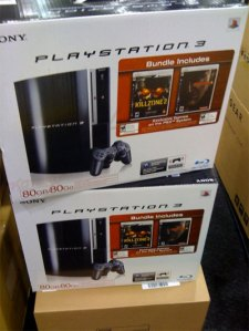 MGS and Killzone 2 PS3 Bundle