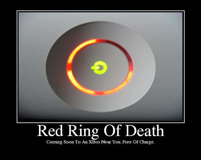 Xbox Slim Red Ring Red Ring of Death – ...