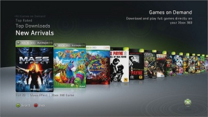 Xbox Live Games On Demand Service