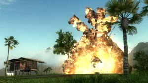 Just Cause 2 Explosion
