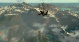 Just Cause 2 Freefall